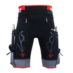 KiWAMi Equilibrium Trail Shorts Unisex black/red